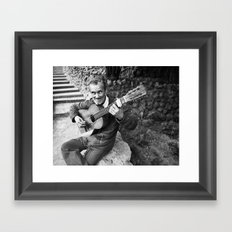Flamenco Callejero Framed Art Print