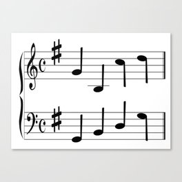 Music Chord Canvas Print