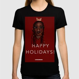 Happy a Holidays Greeting Cards Themes T-shirt