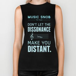 The Dissonance — Music Snob Tip #439 Biker Tank