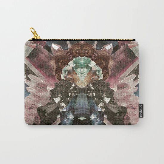 Crystal Collage Carry-All Pouch