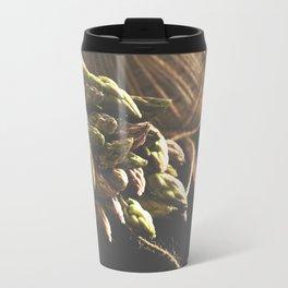 Fresch Asparagus on the table Travel Mug