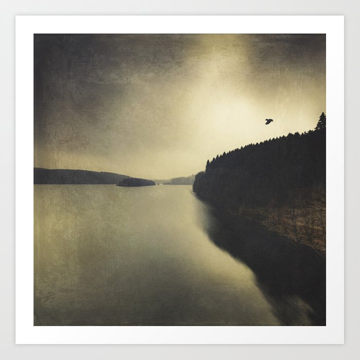 Quiet Lake Art Print