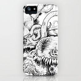 Demon Dimension Hell Art iPhone Case
