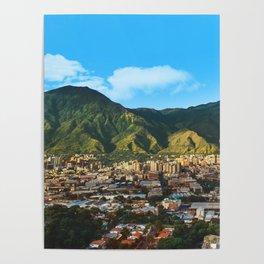 El Avila, Caracas Venezuela Poster