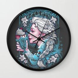 Ice Cream Queen Wall Clock