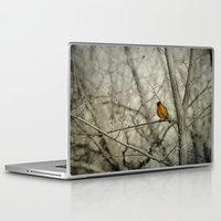 robin Laptop & iPad Skins featuring Robin by Dorothy Pinder