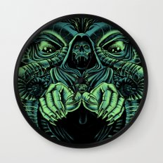The Cultist Wall Clock