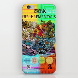 Mysticx & Magick: The Elemental Tribes of the Lost Continent - Art Cover iPhone Skin