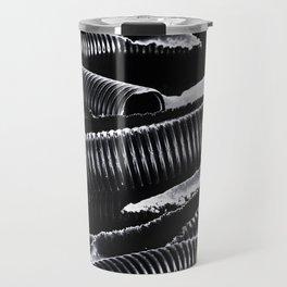 Furrows And Ridges Travel Mug