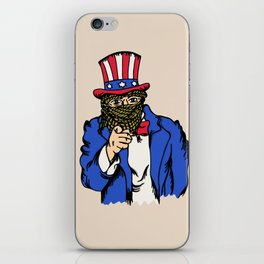 I Want You iPhone Skin