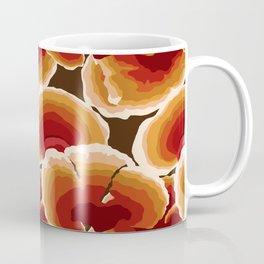 Retro Reishi Mushrooms Coffee Mug