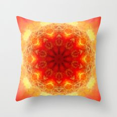 Energy within Throw Pillow