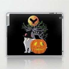Cat Halloween Boys Laptop & iPad Skin