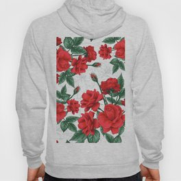 The Red Roses #Spring #Flowers Hoody