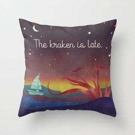 The Kraken Throw Pillow