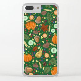 Thanksgiving #2 Clear iPhone Case