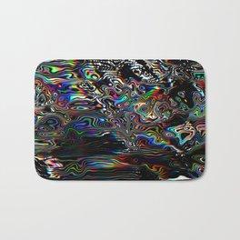 Abstract Spectral Blur Bath Mat