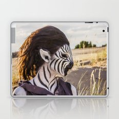 Zebra Girl Laptop & iPad Skin