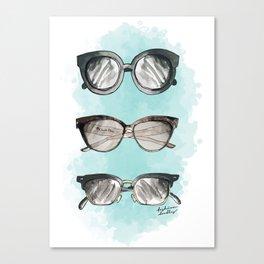 Trendy sunnies Canvas Print