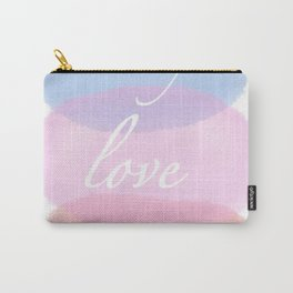 Only love matters Carry-All Pouch