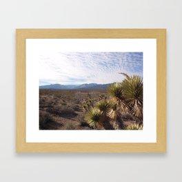 Mount Charleston Framed Art Print