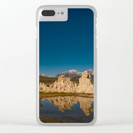 Mono Lake Reflections Clear iPhone Case