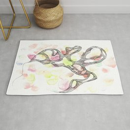 Scandi Micron Art Design | 170808 Micron Watercolour 13 Rug