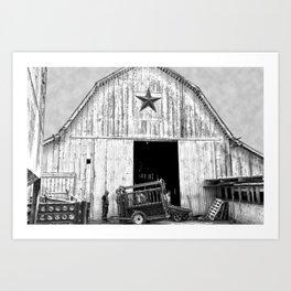 Lonestar Art Print