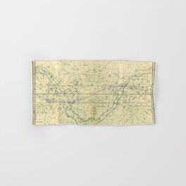 A Celestial Planisphere or Map of The Heavens Hand & Bath Towel