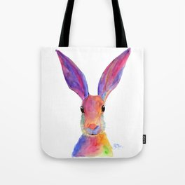 HaRe RaBBiT BuNNY PRiNT ' JeLLY BeaN ' BY SHiRLeY MacARTHuR Tote Bag