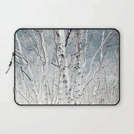Birch trees in Utah high country Laptop Sleeve