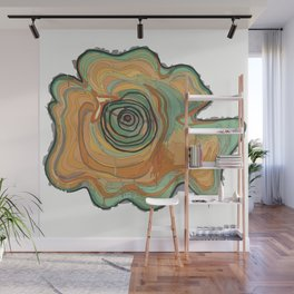 Tree Stump Series 3 - Illustration Wall Mural