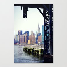 Chrysler Building in New York City, View from Queens Canvas Print