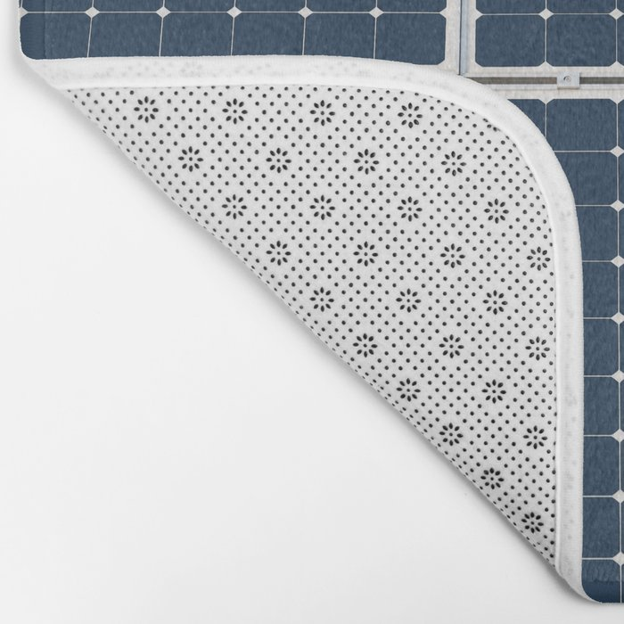 Solar Cell Panel Bath Mat