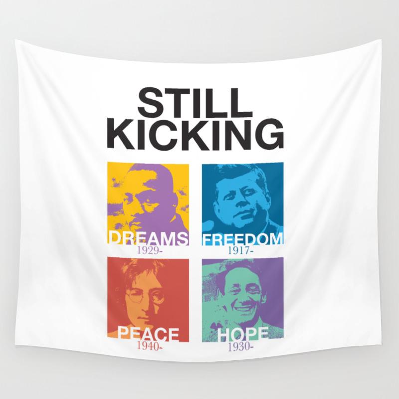 Still Kicking Wall Tapestry by Viettriet TPS1772305
