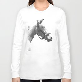 White horse Long Sleeve T-shirt
