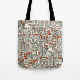 Hong Kong toile de jouy Tote Bag