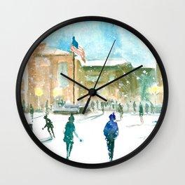 Drill Field - Mississippi State Wall Clock