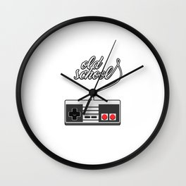 Old School Video Game Novelty Wall Clock