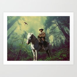 Pine Barrens Homage Art Print