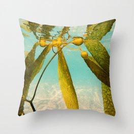 Seaweed Sity Throw Pillow