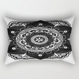 Flower Mandala Number 2 Rectangular Pillow