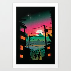 Rio Art Print