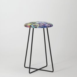 Crow's Paintbrush Counter Stool