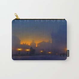 Prague, vintage poster Carry-All Pouch