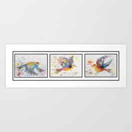Wings Series - Birds in Flight Art Print