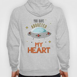 Alien Ufo Abducted E.T. Funny Extraterrestial Gift Hoody