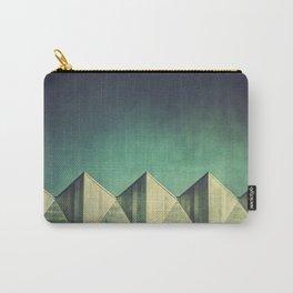 Geometric Skyline Carry-All Pouch