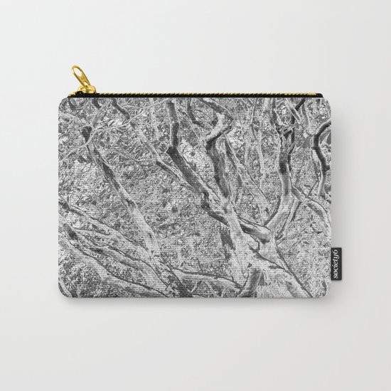 TWISTING BRANCHES Carry-All Pouch